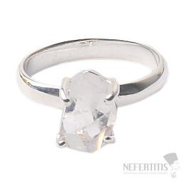 Herkimer diamant prsten stříbro Ag 925 R1684