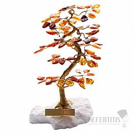 Stromeček štěstí jantar B1