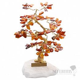 Stromeček štěstí jantar B2