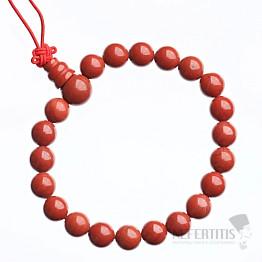 Jaspis červený Buddha náramek