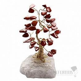Stromeček štěstí jaspis červený