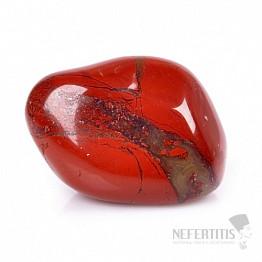Jaspis červený tromlovaný