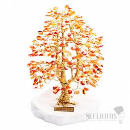 Stromeček štěstí karneol A3