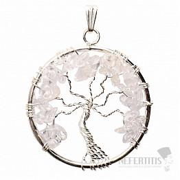 Křišťál přívěsek Strom života