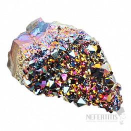 Titanium ametyst třpytivá drůzička