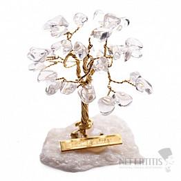 Stromeček štěstí křišťál
