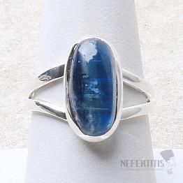 Kyanit modrý prsten stříbro Ag 925 R36
