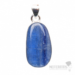 Kyanit modrý přívěsek stříbro Ag 925 P1560