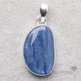 Kyanit modrý přívěsek stříbro Ag 925 P1581