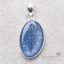 Kyanit modrý přívěsek stříbro Ag 925 P1588