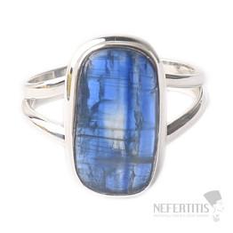 Kyanit modrý prsten stříbro Ag 925 R12