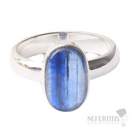 Kyanit modrý prsten stříbro Ag 925 R26