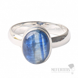 Kyanit modrý prsten stříbro Ag 925 R39