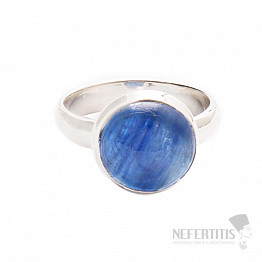 Kyanit modrý prsten stříbro Ag 925 R1040