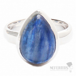 Kyanit modrý prsten stříbro Ag 925 R1043