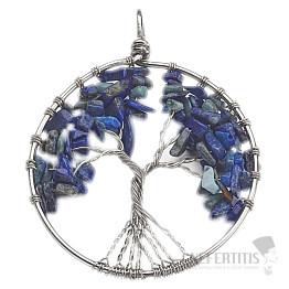Lapis Lazuli přívěsek Strom života