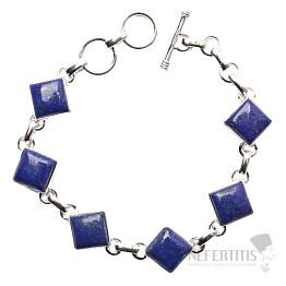 Lapis Lazuli náramek stříbro Ag 925 B123