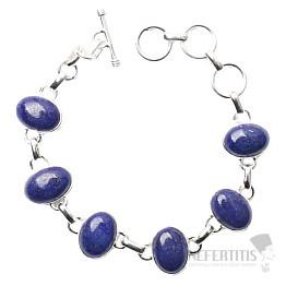 Lapis Lazuli náramek stříbro Ag 925 B137