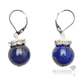Lapis lazuli náušnice klapkové