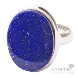 Lapis Lazuli prsten stříbro Ag 925 R1492