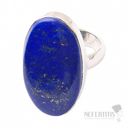 Lapis Lazuli prsten stříbro Ag 925 R1509