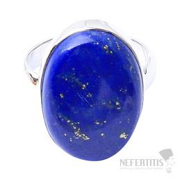 Lapis Lazuli prsten stříbro Ag 925 R1522