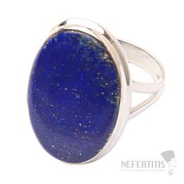 Lapis Lazuli prsten stříbro Ag 925 R1524