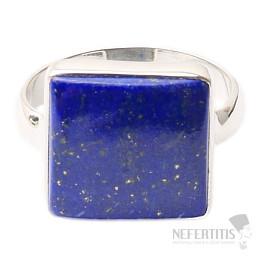 Lapis Lazuli prsten stříbro Ag 925 R1558