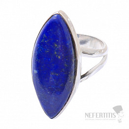 Lapis Lazuli prsten stříbro Ag 925 R1530