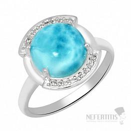 Larimar prsten stříbro LD 03 Ag 925