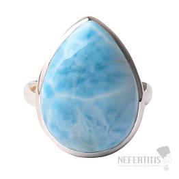 Larimar prsten stříbro Ag 925 R1000