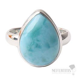 Larimar prsten stříbro Ag 925 R1005