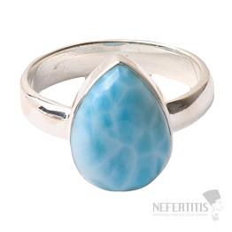 Larimar prsten stříbro Ag 925 R1021