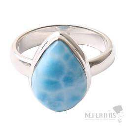 Larimar prsten stříbro Ag 925 R1056