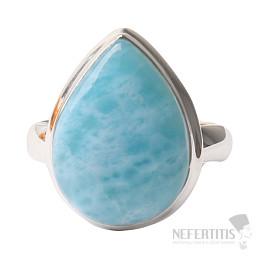 Larimar prsten stříbro Ag 925 R1071