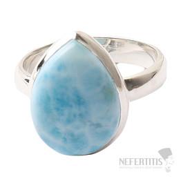 Larimar prsten stříbro Ag 925 R980