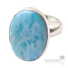 Larimar prsten stříbro Ag 925 R989