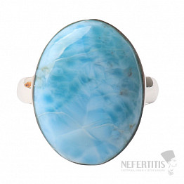 Larimar prsten stříbro Ag 925 R991