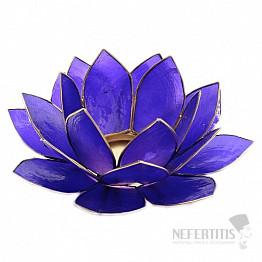 Svícen lotos pro čelní čakru