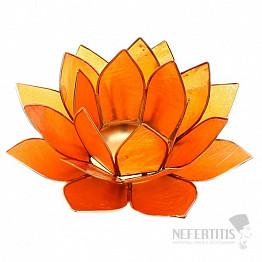 Svícen lotos pro sakrální čakru