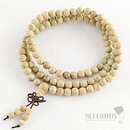 Japa Mala náhrdelník z kafrového dřeva