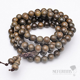 Japa Mala náhrdelník verawood dřevo