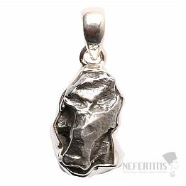 Meteorit Campo del Cielo přívěsek stříbro Ag 925 P688