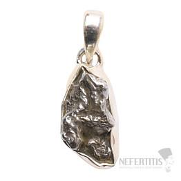 Meteorit Campo del Cielo přívěsek stříbro Ag 925 P718