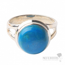 Opál modrý peruánský prsten stříbro Ag 925 R4