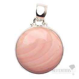 Opál růžový design přívěsek stříbro Ag 925 JW21968