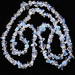 Opalit náhrdelník sekaný