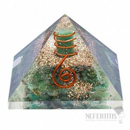 Orgonit pyramida s jadeitem