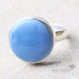 Opál Owyhee prsten stříbro Ag 925 R325