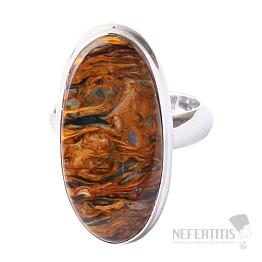 Pietersit prsten stříbro Ag 925 R526